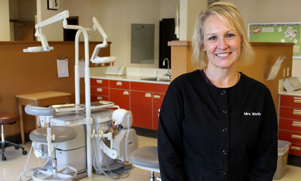 Roberta Wirth has been a Dental Assistant instructor at CPTC since 1990.