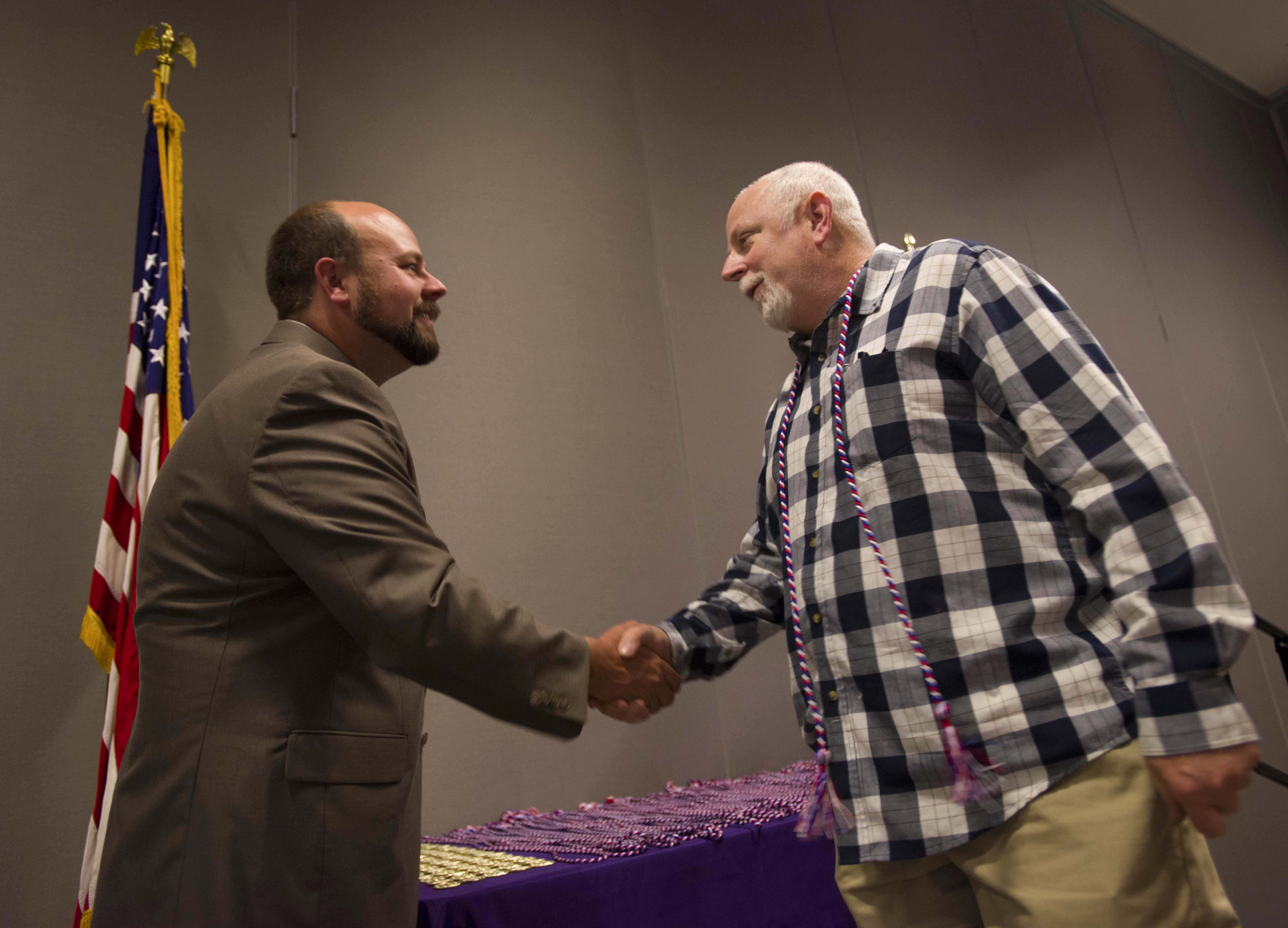 Vets get honor cords