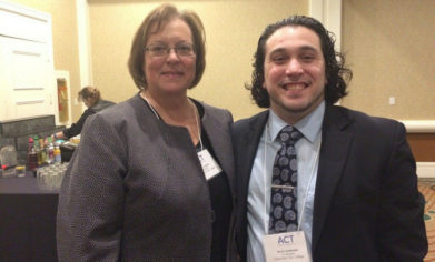 Featured image of CPTC President and honoree.