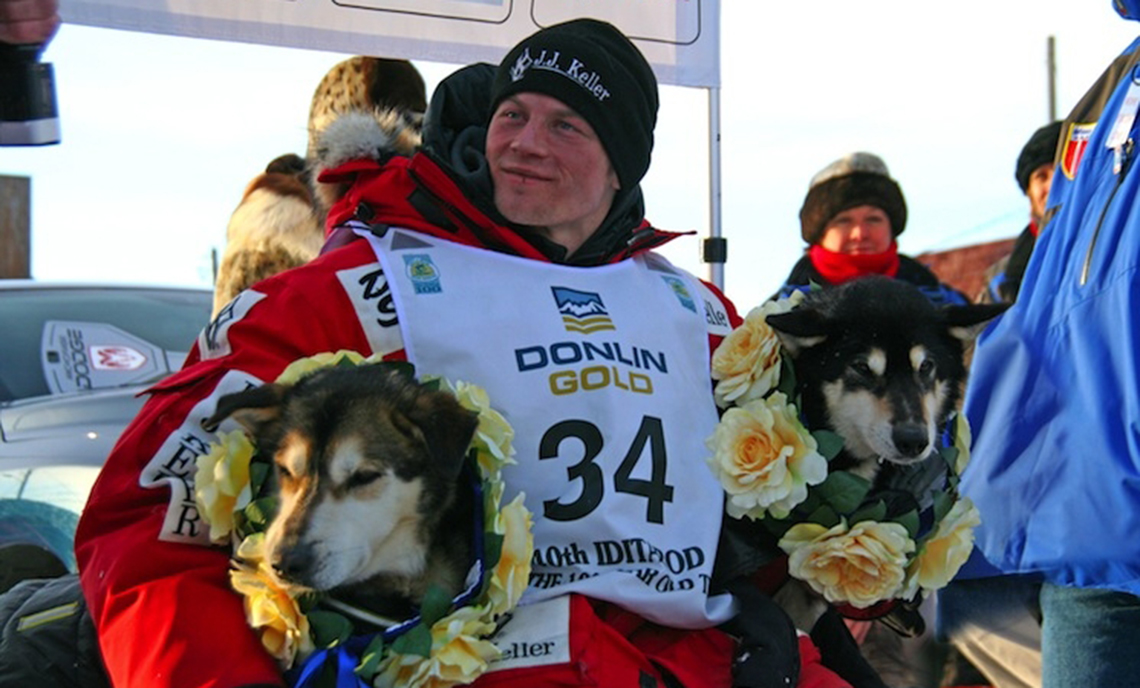 Dallas Seavey became the youngest winner in Iditarod history when he won the 2012 race at the age of 25.