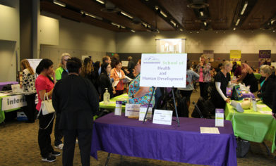 More than 200 visitors attended CPTC's Fall Open House on Oct. 11, as the college hosted fair-style booths for all 44 programs at the McGavick Conference Center.