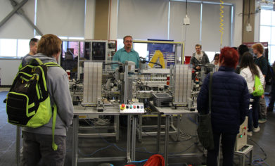 Two hundred local high school students had the chance to tour CPTC's Advanced Manufacturing labs during the college's Manufacturing Day celebration on Friday, Oct. 13.