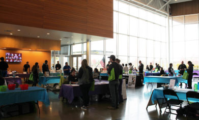 More than 200 people and nearly 20 vendors attended the Health Fair on Nov. 16.