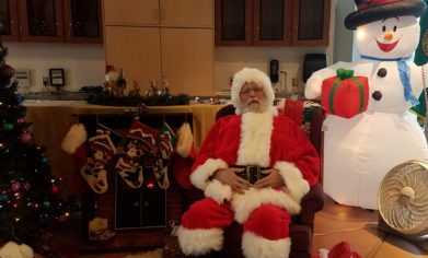 CPTC's own personal Santa Claus took photos with children and helped spread holiday cheer at the Holiday House event on Dec. 7.