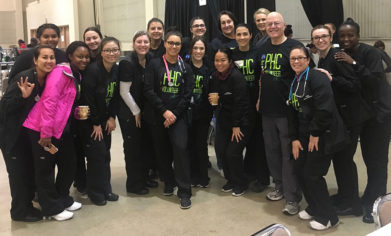 CPTC Dental Assistant students continued a decade-long partnership by serving at the Project Homeless Connect event at the Tacoma Dome in October.