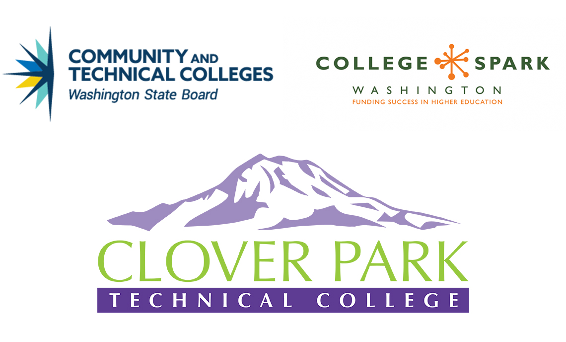 CPTC, SBCTC and College Spark logos