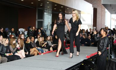 The CPTC Cosmetology and Esthetics programs partnered to put on a Red Carpet Fashion Show during the 2018 Winter Fest.