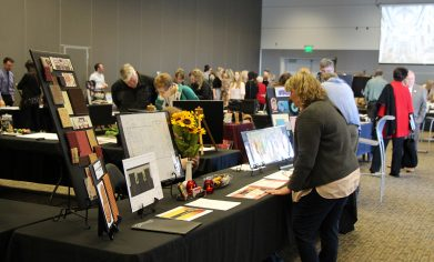 CPTC Interior Design students showcased their work from the past six quarters at the Student Portfolio Exhibition on March 15.