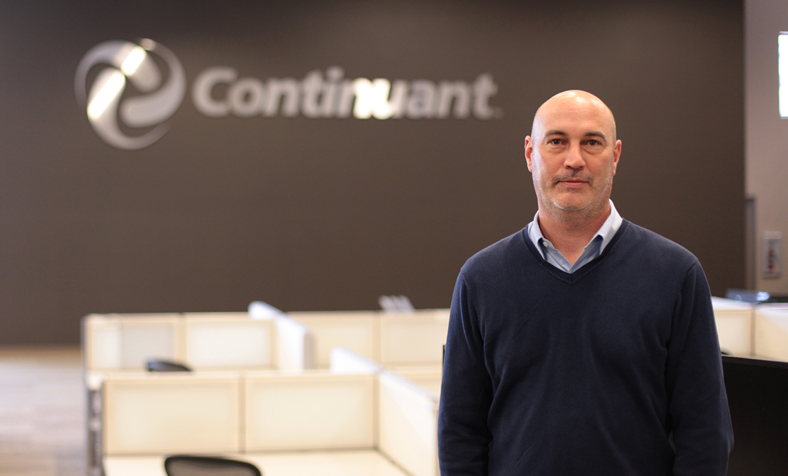 CPTC Convergence Technologies program alum Steve Peterson has worked at Continuant for more than 20 years after the program helped connect him to the company.