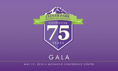 CPTC 75th Anniversary Logo and gala date information