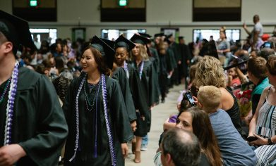 Nearly 450 graduates attended CPTC's 22nd Commencement Ceremony on June 19.