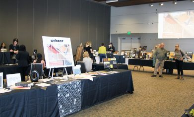 A total of 15 CPTC Interior Design students showcased their portfolios at the exhibition event on March 20.