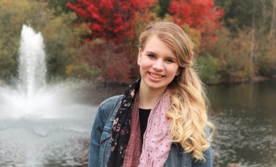 Elizabeth Bock is a Running Start Cosmetology student at Clover Park Technical College