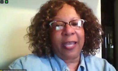 Dr. LaRita Mongomery-Mandley on zoom