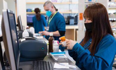 CPTC Pharmacy Technician program students
